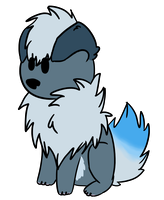Snowmstorm-cat Chibi commision by Afna2ooo