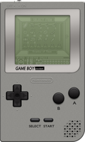 Nintendo Game Boy Pocket [Silver 1] by BLUEamnesiac