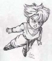 Trunks - Sketch #4 by Jaylastar