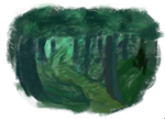 Forest Speedpaint by roleplay4life