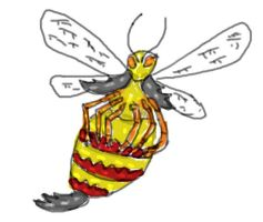 Zoo morph Stag Bee by Cupercrusader