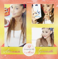 +Ariana Grande photopack. by MarEditions1