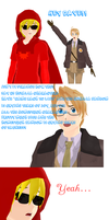 A comic about the Homestuck and Hetalia update! by snips800