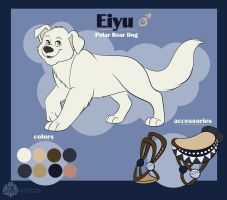 Eiyu ref sheet by Miss-Melis