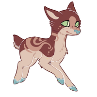[Auction] .:Tribal deer design:. .Closed!. by coconuteIIa