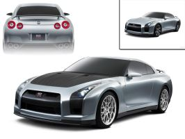 Nissan GTR Stage 1 Modified by ddvs1