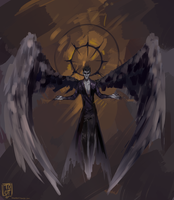 The dark angel by TotoHiems