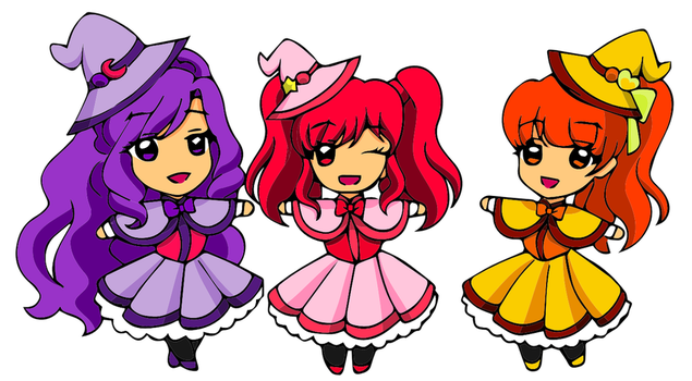 Magical Girls - KiraKira Precure A La Mode Version by vivian274
