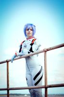 rei ayanami - plugsuit cosplay by Relion