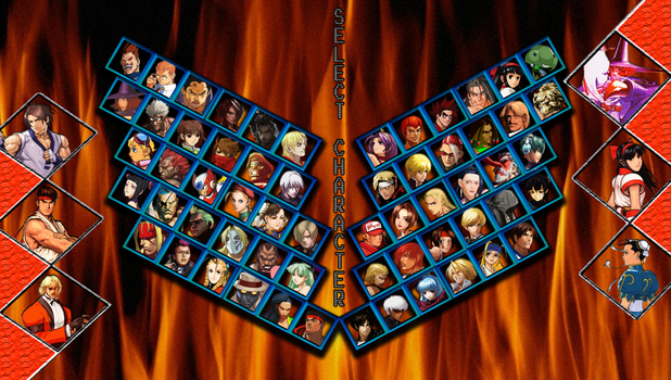 Capcom vs SNK 3 - My Roster by DENDEROTTO