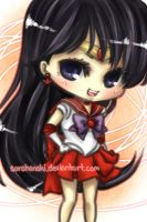 Sailor Mars by sorahanaki