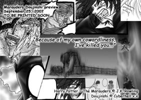 Marauders Doujin Preview x.x by cyberhell