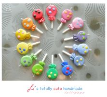 lollipops pendants by finska-idiotka