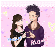 .:Tachikawa-High:. Purikura Kisa and Alo 2 by KaizokuHime