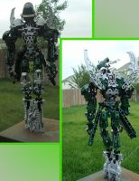 Bionicle MOC: Lentro the Elemental by Haotaus