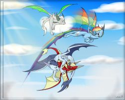 Super Squad - Scales 'n claws (by WingedWilly) by The-Nuclear-Pegasus