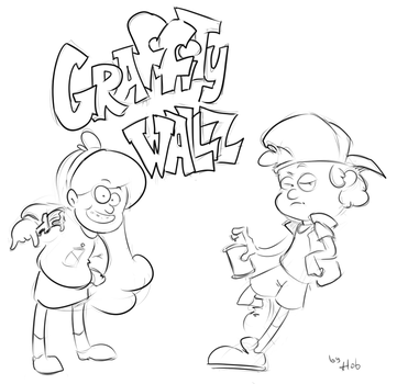 Graffity wallz by Hob-kun
