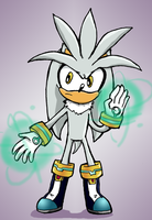 Sonic X Style Silver by BladeXD