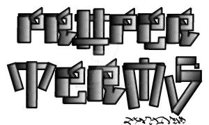 proper terms only font by graffitude