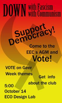 EEC AGM poster by Taburn
