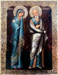 Mary mother of Jesus and John the Evangelist by GalleryZograf