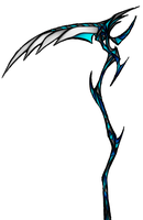 Another Scythe Design :D COLOR by RubyPheonix