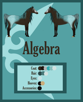 Algebra - Reference Sheet by Crystal-Cinders