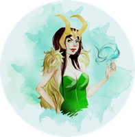 lady loki by felloliette