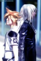 KH2cos- At the edge... by akewataru