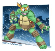 Mikey by SupaCrikeyDave