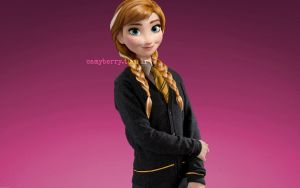 Anna of Arendelle by crystalwaterfall