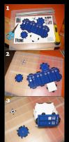 I made my own TARDIS by Golubaja