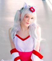 Okami Cosplay 3 by Melancholy-Feline