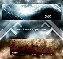 Two new signatures by threefx