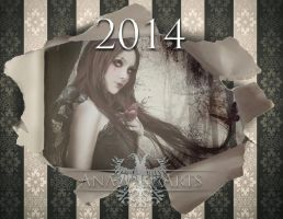 Art Calendar 2014 by LuneBleu