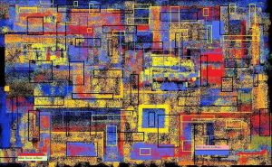 tangleofrectangles by agbuttery