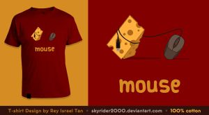 Mouse T-Shirt Design by skyrider2000