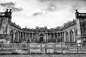 Trentham Hall by Engazung