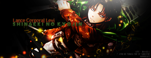 Rivaille [Shingeki no Kyojin] Banner by HarmoniaFreak