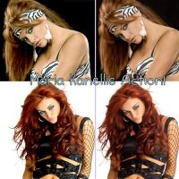Maria Kanellis Action by TheRealQueenOfChaos