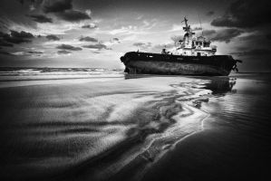 stranded bw by almiller