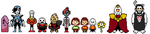 Swapfell Sprites by lisianthus-rose