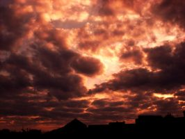 Sunset Over Berlin 86 by ErinM2000
