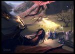 When The Dragons Came by Cloister