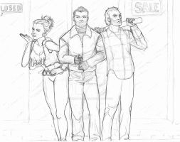 GTA V: Past Trio by ceres-de-rehka