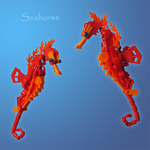 Lego: Seahorse by retinence