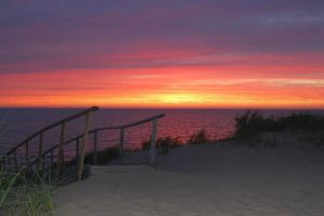 Saugatuck Sunset by golfiscool