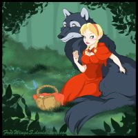 Little Red Riding Hood by FreeWingsS
