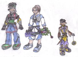 Kingdom Hearts: Psychodyssey by werewolfwannabe1224