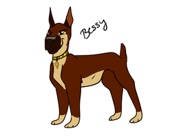 Bessy the Boxer by Wolf-Chalk